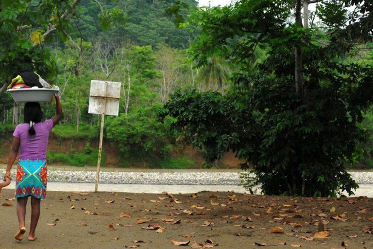 Comunidades indígenas en Colombia. Foto: Juan Pablo Gutiérrez / ONIC.