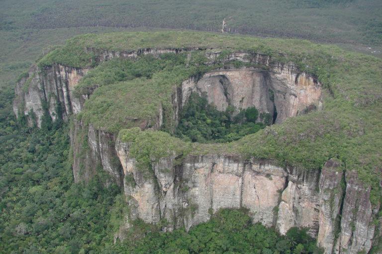 Parque Nacional Natural Serranía de Chiribiquete. Foto: ©LG Naranjo/WWF Colombia