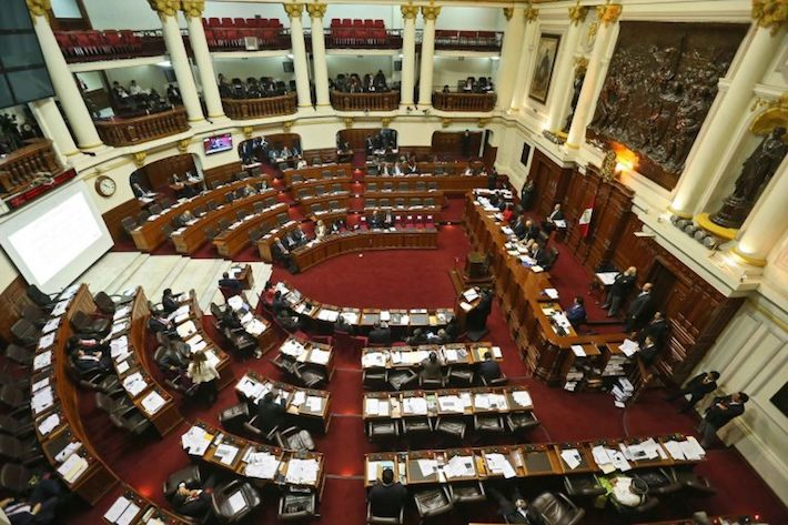 El proyecto de la Ley de hidrocarburos podría ser discutido en cualquier momento en el pleno del Congreso. Foto: Agencia Andina.