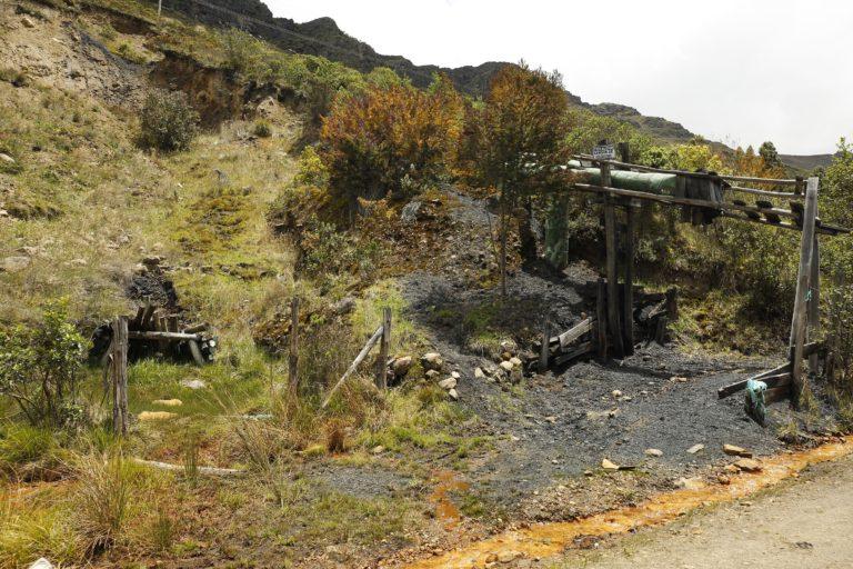 La minería de carbón es una de las principales actividades en el páramo de Pisba y una de las que quedará prohibida con la delimitación. Foto: Daniel Reina Romero-Semana Sostenible.