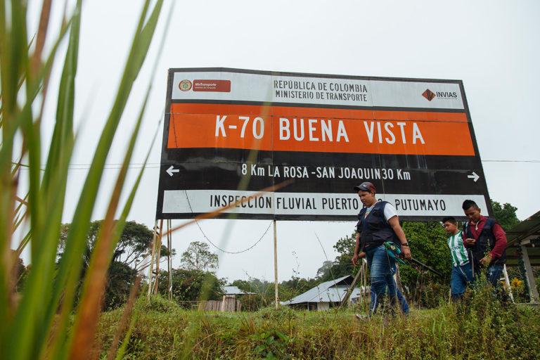 El resguardo Buenavista se encuentra muy cerca del río Putumayo.Foto: Amazon Frontlines.