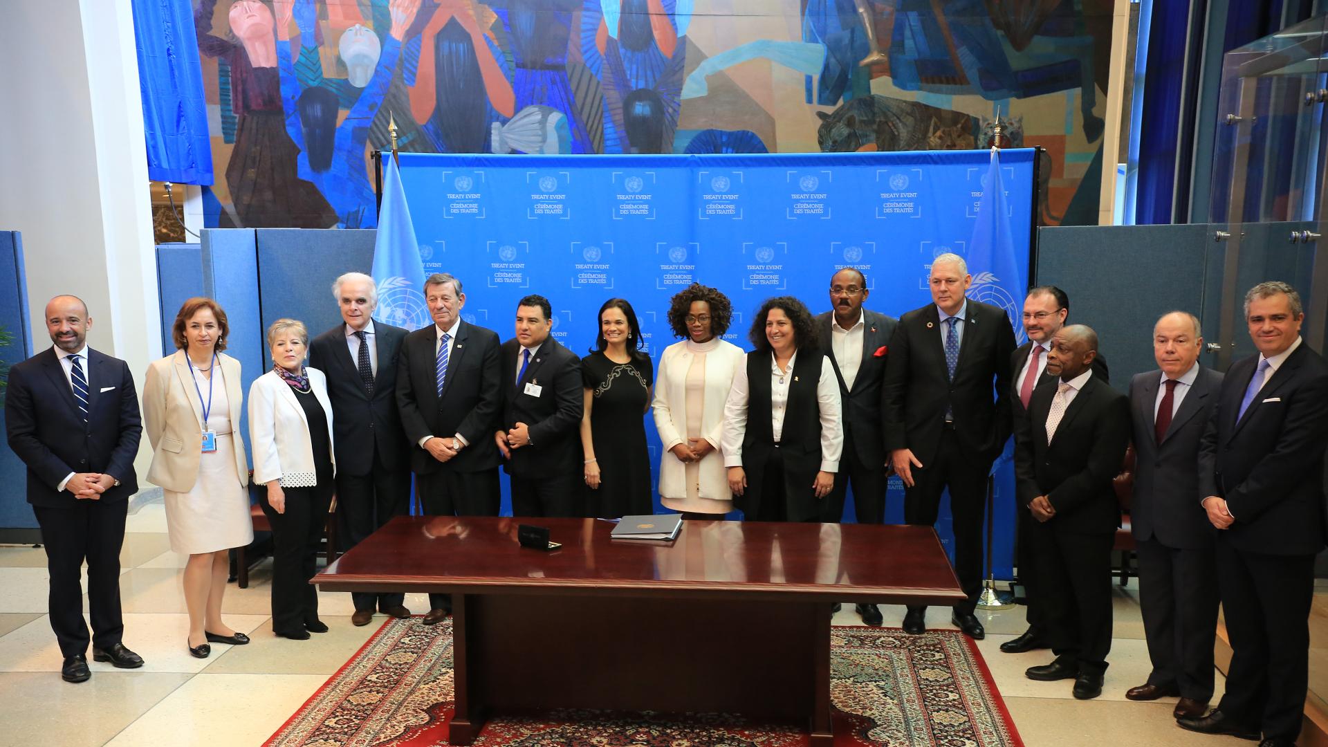 Fueron seis años de negociaciones para arribar al Acuerdo Escazú. Foto: CEPAL.