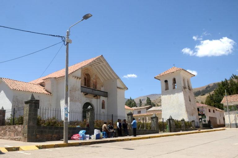 El distrito de Pitumarca es la capital de la provincia de Canchis, donde se ubica el territorio de la propuesta del ACR Ausangate. Foto: Yvette Sierra Praeli.
