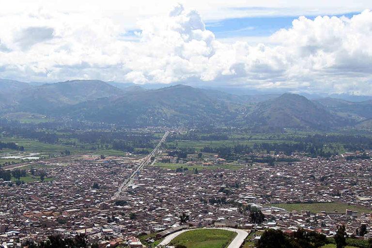 Panorámica de la ciudad de Cajamarca (Tolima). Foto: Cortesía Semana Sostenible.
