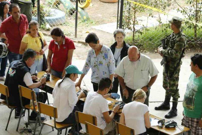 La consulta de Fusagasugá se realizó el domingo 21 de octubre. Foto: Cortesía Semana Sostenible.
