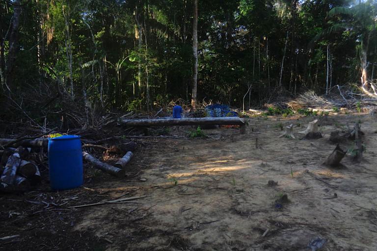 El pueblo tacana reclama por los efectos adversos de las operaciones de la empresa china BGP en su territorio. Foto: Monitores ambientales.