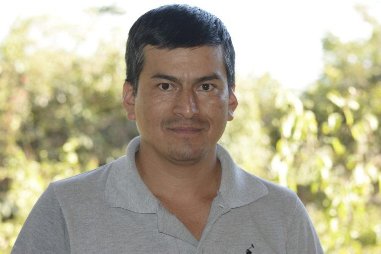 Franco Mendoza, guardaparques de la reserva Tapichalaca en Ecuador. Foto: Fundación Jocotoco.