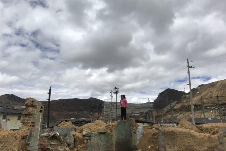La reubicación del pueblo de Morococha ha puesto en riesgo ambiental a su población. Foto: Hiperactiva Comunicaciones.