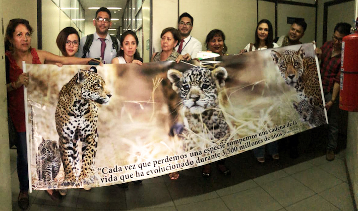 Algunos activistas de Santa Cruz que hicieron seguimiento al proceso y autoridades. Foto: Gina Muñoz.