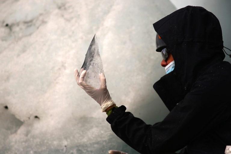 La Corona es el último de los glaciares venezolanos que queda y tiene los días contados. Está ubicado sobre el pico Humboldt y solo conserva 0,2 kilómetros cuadrados de nieve. Foto: Fundación Ymago.