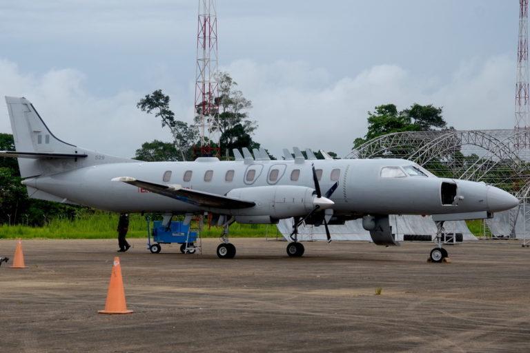 Dos aviones C26-B se utilizaron para la operación Harpía III. Foto: Yvette Sierra Praeli.