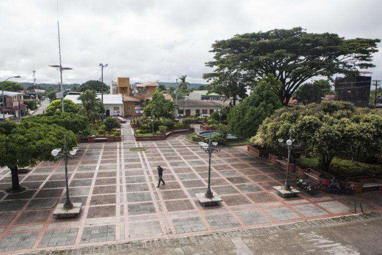 Panorámica del municipio de Tauramena, Casanare, en el oriente de Colombia. Foto: Diana Rey Melo / Revista Semana Sostenible.