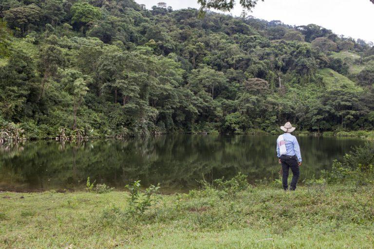Habitantes de Tauramena buscan evitar la exploración de hidrocarburos en el sector El Cerro. Foto: Diana Rey Melo / Revista Semana Sostenible.