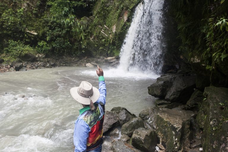 Cascada del Zambo en Tauramena, Casanare. Foto: Diana Rey Melo / Revista Semana Sostenible.