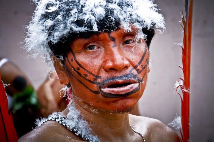 Indígena Yanomami. Foto: Grupo de Trabajo Socioambiental de la Amazonía Wataniba.