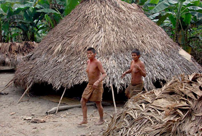 La población nahua y nanti vive dentro de la reserva Kugapakori, Nahua, Nanti y otros. Foto: Survival International.