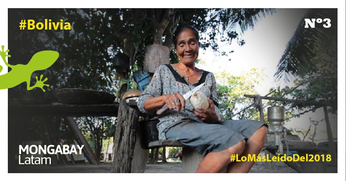 Tipnis. Los habitantes de Trinidadcito no se siente pobres, pero sí 'castigados' por el Estado. Foto: Jorge Gutiérrez.