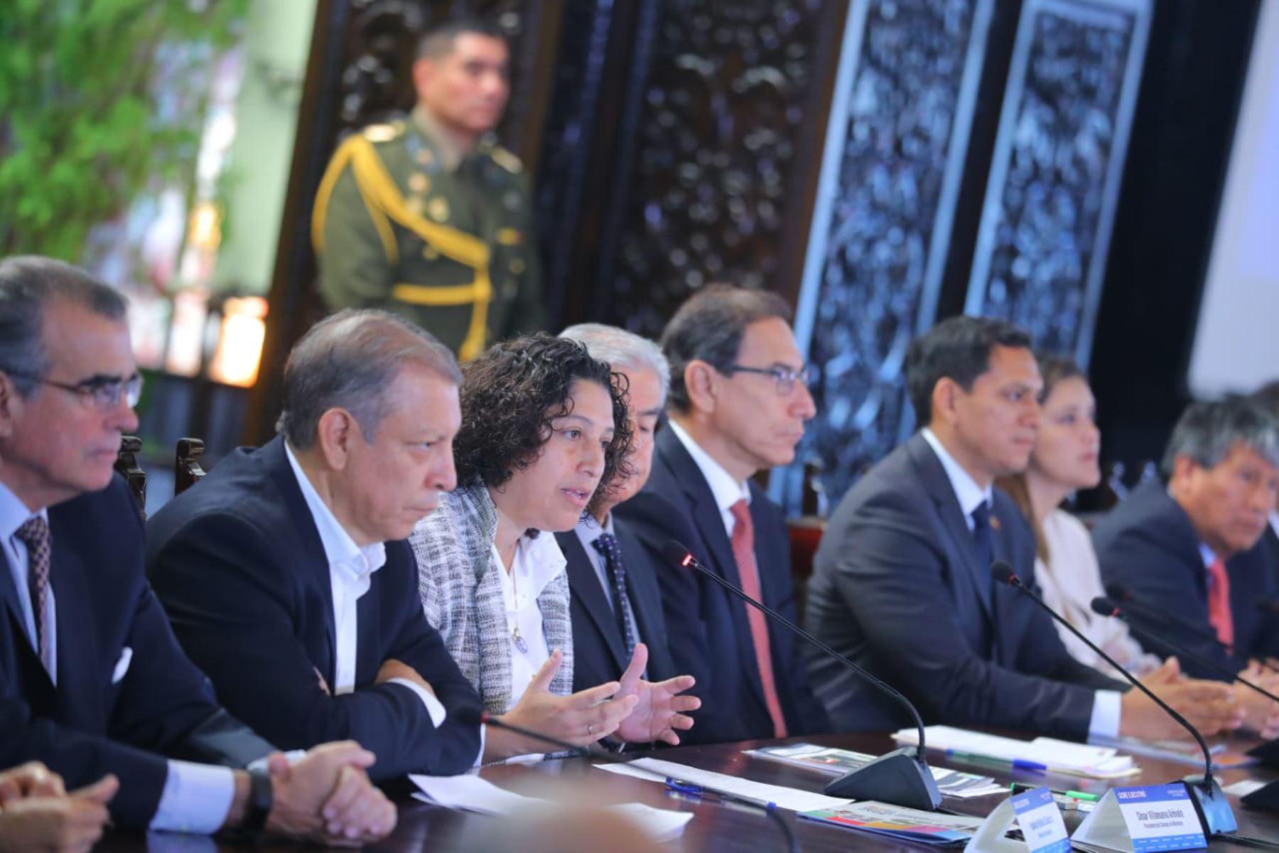 Este año se aprobó la Ley Marco de Cambio Climático en Perú. Foto: Agencia Andina.