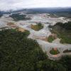 Imágenes satelitales registradas entre setiembre y noviembre de este año muestran el avance de la deforestación en el área de influencia de un proyecto operado por la empresa Minera Panamá. Foto: CIAM