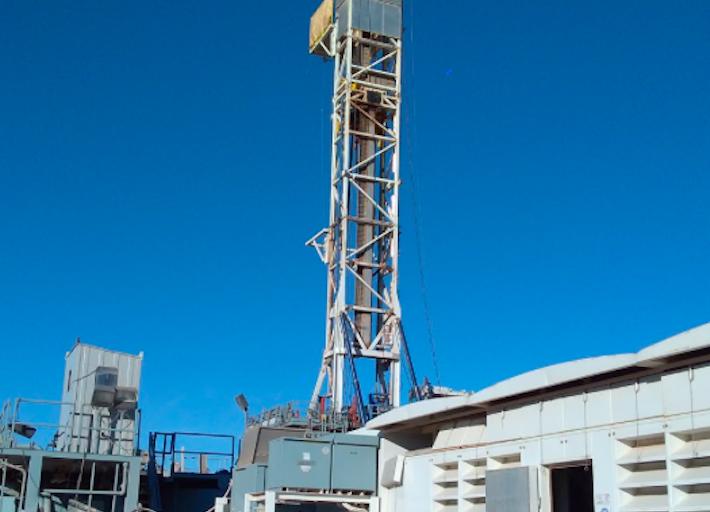 Imagen de un proyecto de fracking. Foto: cortesía de la Alianza Mexicana contra el Fracking.
