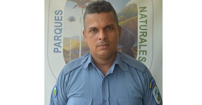Wilton Orrego, guardaparque de Parques Nacionales Naturales de Colombia, fue asesinado el 14 de enero de 2019. Foto: Parques Nacionales.