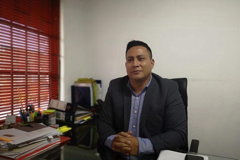 Robinson López, coordinador de Derechos Humanos de la Organización Nacional de los Pueblos Indígenas de la Amazonía Colombiana (OPIAC). Foto: Antonio Paz