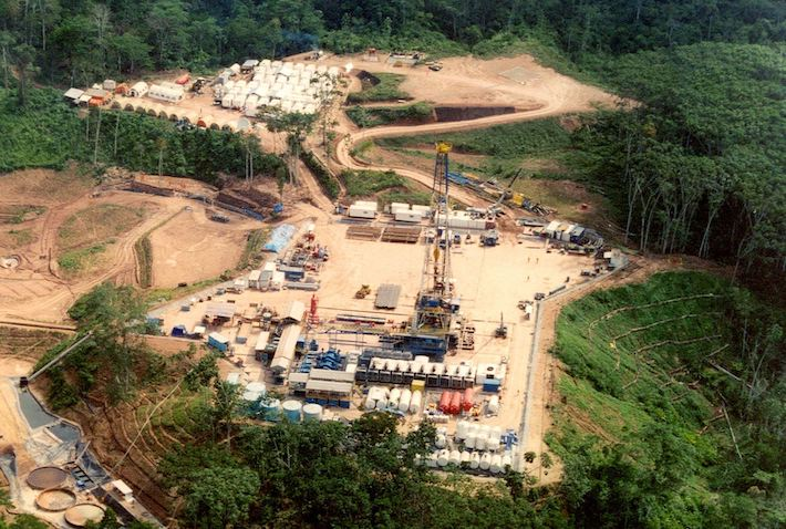 Panorámica del lote petrolero 192. Foto: Cortesía Andina.