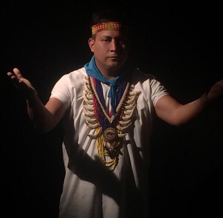 Robinson López, líder indígena de los pueblos amazónicos de Colombia. Foto: cortesía Robisnon López.