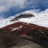 El volcán nevado de Cotopaxi se encuentra a 5897 metros sobre el nivel del mar. Foto: Inamhi.
