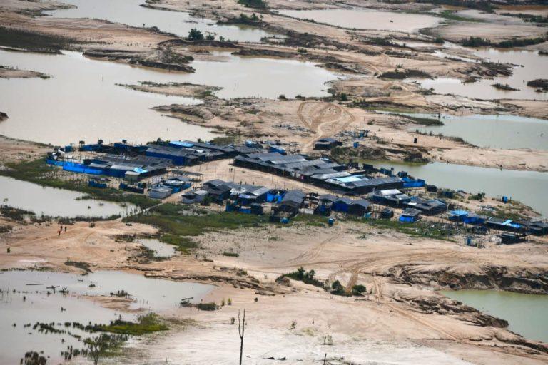 La Pampa, en Madre de Dios, ha sido la zona con un avance intenso de deforestación en el 2018: Foto: Ministerio del Interior.