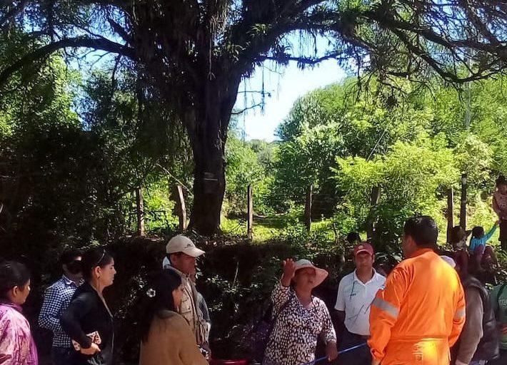 COVID 19 La presencia de una empresa de hidrocarburos en Tariquía ha recibido el rechazo de los comuneros. Foto: Tariquía Hoy.