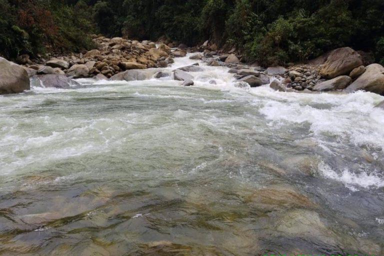 Aguas cristalinas del río Upano. Foto: Diego Jaramillo / Facebook.