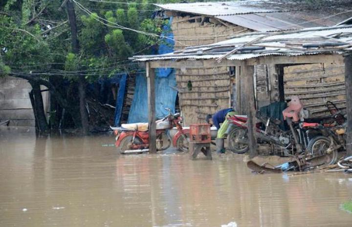 Las zonas rurales han sido las más afectadas por las lluvias en Bolivia. Foto: Ministerio de Defensa.