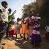 El territorio de los indígenas de la comunidad de La Frontera, del resguardo Iroka, está rodeado de predios privados y ecosistemas frágiles y tienen poco espacio para sembrar sus productos. Foto: Esteban Vega La-Rotta / Semana Sostenible.