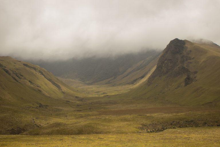 Paisaje del volcán Chalupas. Foto: Gabriel Moulatlet.