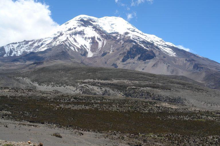 El glaciar del Chimborazo cubre 9 km2. Foto: Robert Hofstede.
