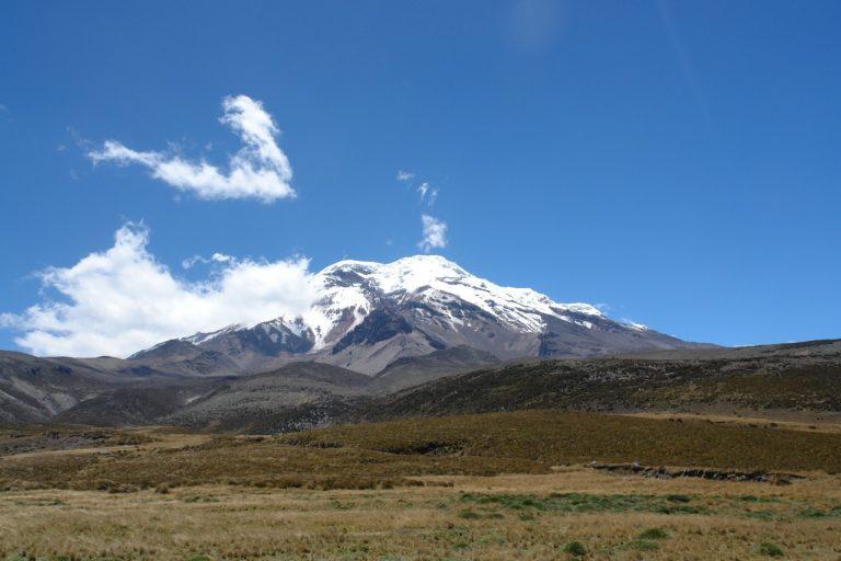 Volcán Chimborazo. Foto: Robert Hofstede.