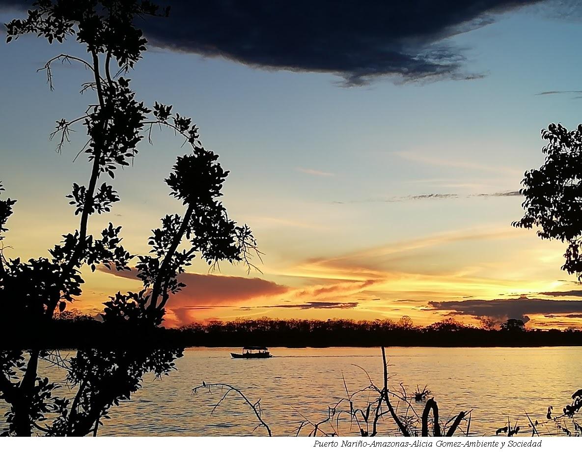 Puerto Nariño, departamento de Amazonas. Foto: Alicia Gómez - Ambiente y Sociedad.