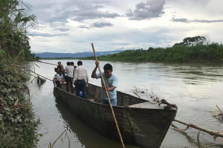 Para Jorge Abad los ríos tienen vida y cambian constantemente. Foto: Archivo personal.