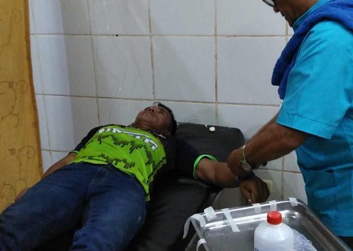 Los heridos fueron trasladados hasta hospitales en Iquitos. Foto: Orpio.