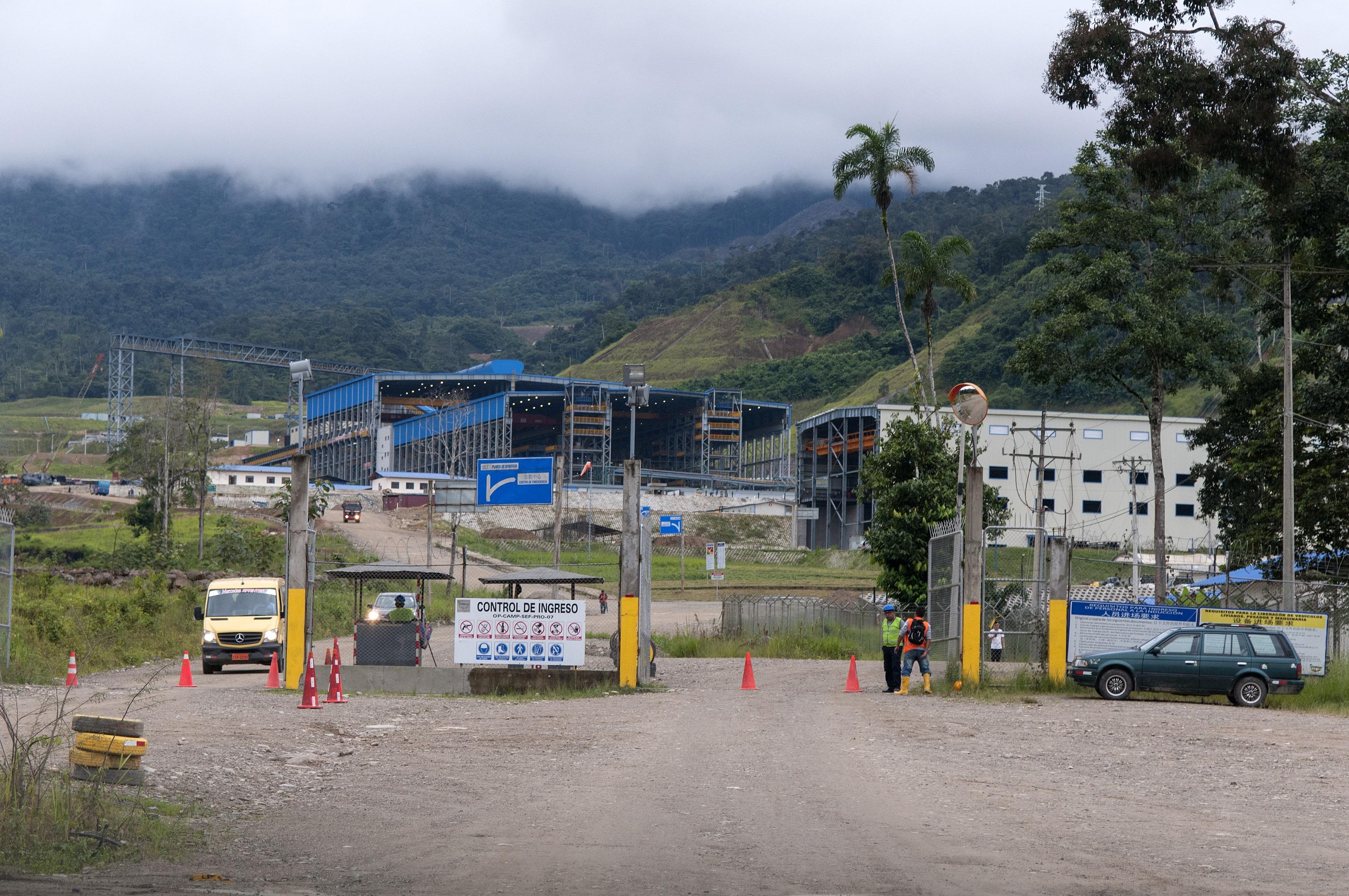 Campamento del Proyecto Mirador. Foto: Segundo Espín / Revista Vistazo.