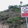 Parte del bosque que se ha tumbado para la construcción del proyecto Mirador , de capital chino. Foto: Segundo Espín / Revista Vistazo.