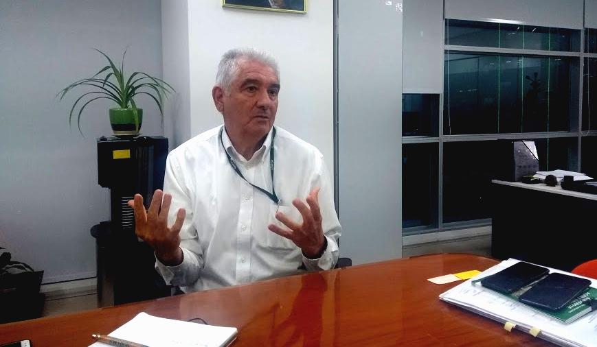 Alberto Gonzales-Zúñiga Guzmán, director ejecutivo del Servicio Nacional Forestal y de Fauna Silvestre (Serfor). Foto: Ojo Público.
