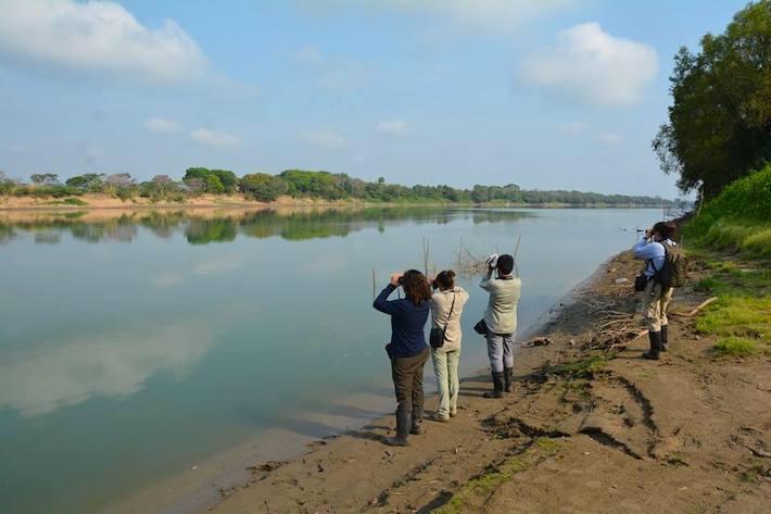 La UMA fundada por el Tío Guato está a la orilla del río Usumacinta. Foto: cortesía UMA Saraguatos.