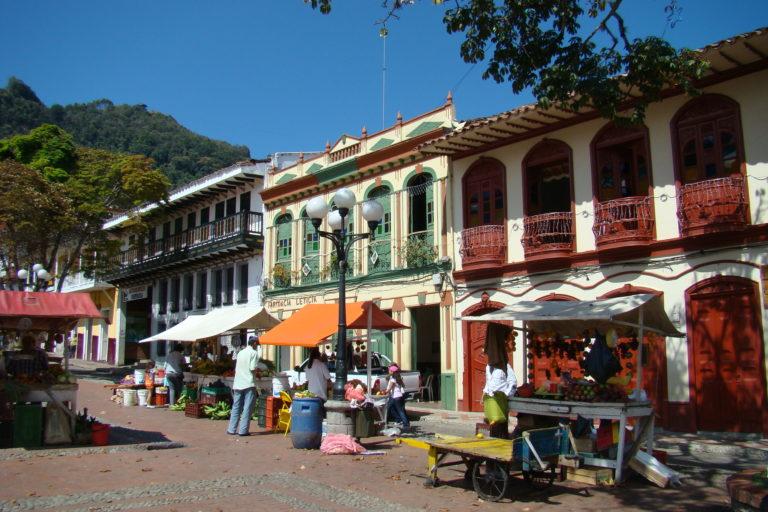 Jericó es pueblo patrimonio de Colombia. Foto: Iván Erre Jota - Flickr.