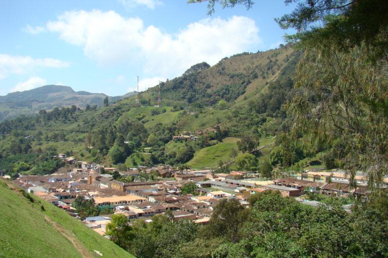 Vista panorámica de Jericó. Foto: Iván Erre Jota - Flickr.