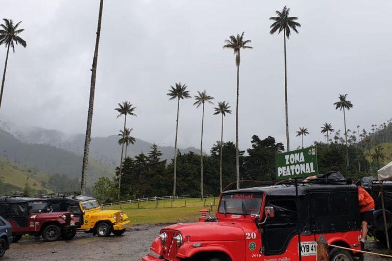 El Valle de Cocora en Salento, Quindío, es uno de los lugares más visitados de Colombia. Foto: Andrea Correa.
