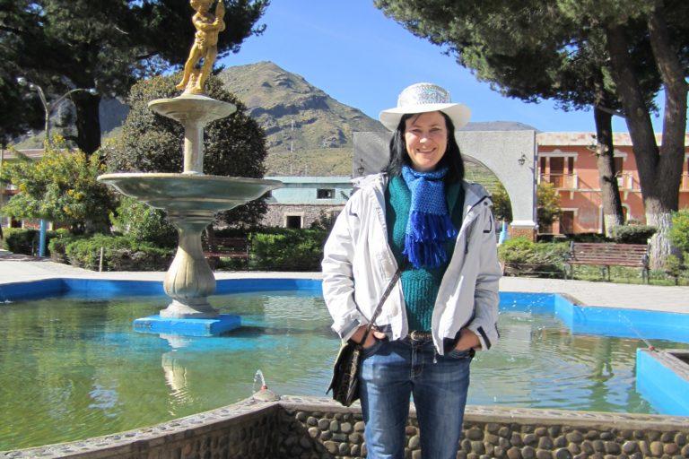 La antropóloga ambiental Astrid Stensrud estuvo en Perú en más de una ocasión para realizar estudios en Cusco y Arequipa. Foto: Archivo personal.