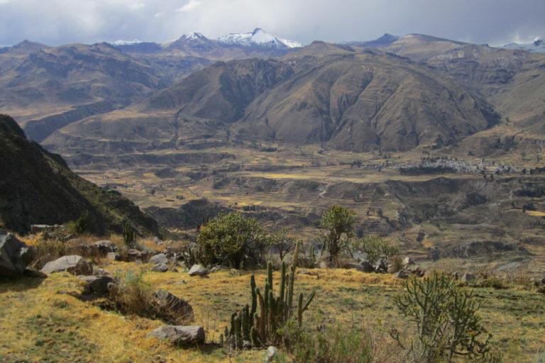 El Valle del Colca donde Astrid Stensrud realizó sus investigaciones sobre la relación de las comunidades con el agua. Foto: Archivo personal.