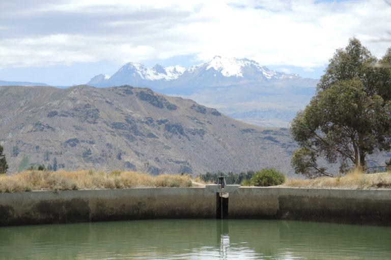 El proyecto Majes-Siguas y su relación con la cuenca alta fue un tema abordado por la antropóloga ambiental Astrid Stensrud. Foto: Archivo personal.